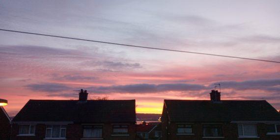 Belfast Sunset